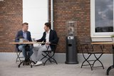 Sunred LH15B Propus Lounge Heater Zwart_