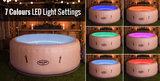 Lay-Z Paris 4-6 Persoons Opblaasbare Spa met LED_