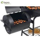 Tepro Natchez Houtskool Smoker Barbecue_