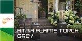 Sunred FT17G Atria Flame Torch Grey Flameheater_