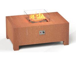 Adezz Burni VBC1 Vuurtafel Brann Cortenstaal 120x80x50cm