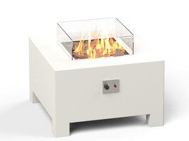 Adezz Burni VBA3 Vuurtafel Brann Aluminium Wit 80x80x50cm