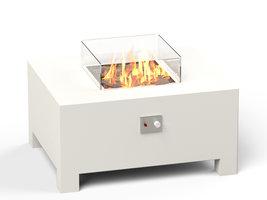 Adezz Burni VBA2 Vuurtafel Brann Aluminium Wit 100x80x50cm