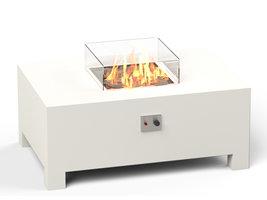 Adezz Burni VBA1 Vuurtafel Brann Aluminium Wit 120x80x50cm