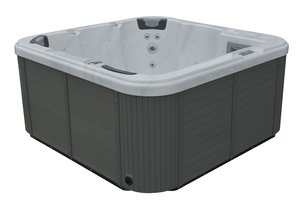 Infinity Spa Vierkant Bolsena 5-Persoons Jacuzzi
