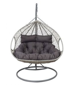 Outdoor Living Hangstoel Close Grizzly